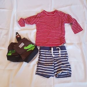 2/$20 Baby Gap boy 2T bottom and top
